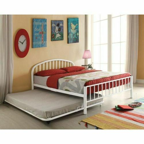 ACME Cailyn Trundle (Full) - 30468WH - White