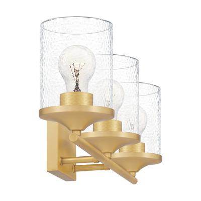 See Details - Abner Bath Light in Aged Brass