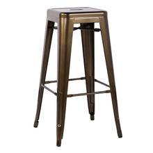 BRONZE METAL BAR STOOL