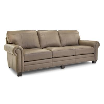 See Details - Leather Large Sofa