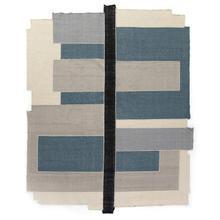 8'x10' Size Olexa Block Border-blue