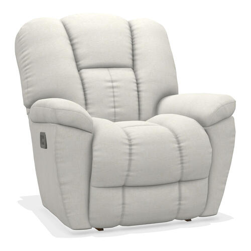 Maverick Power Rocking Recliner w/ Head Rest