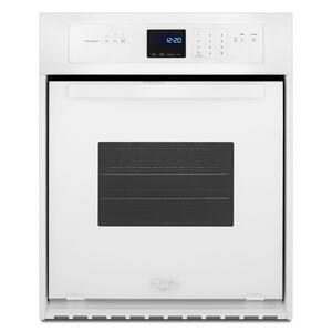 Whirlpool3.1 Cu. Ft. Single Wall Oven with AccuBake® System White