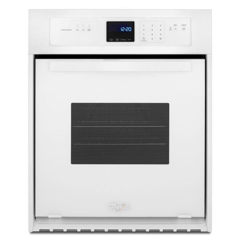 3.1 Cu. Ft. Single Wall Oven with AccuBake® System White