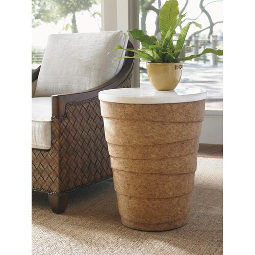 Kendari Round Accent Table