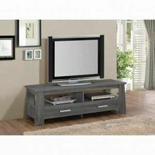 ACME Falan TV Stand - 91725 - Dark Gray Oak for Flat Screens TVs up to 60""
