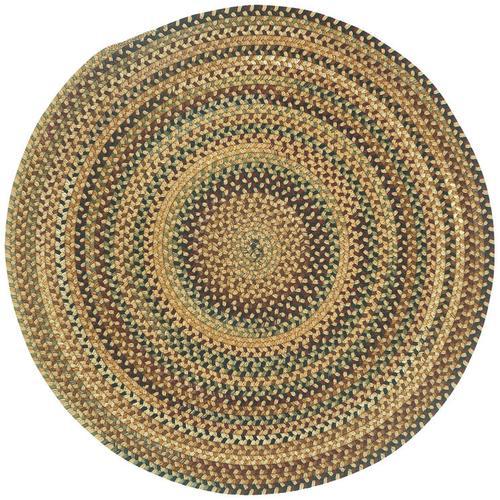 Gramercy Tan Braided Rugs (Custom)
