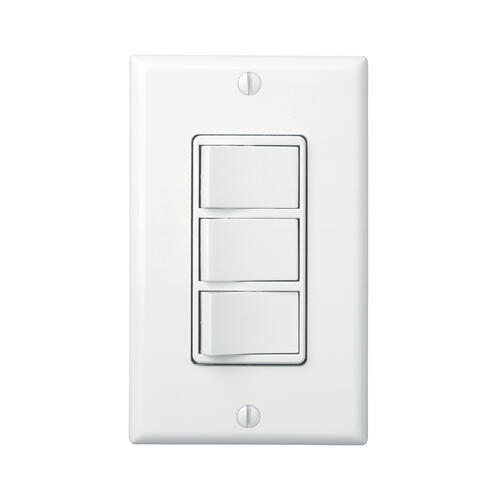 Broan-NuTone® 3-Switch Control w/ 4-Function Control, Heater/Fan/Light, Night-Light