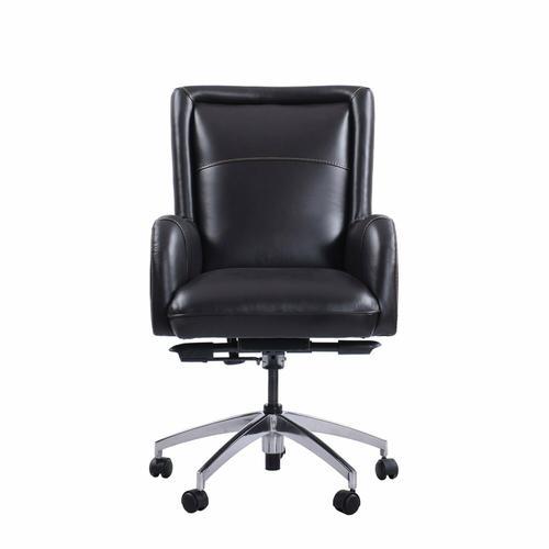 DC#130 Verona Blackberry - DESK CHAIR Leather Desk Chair