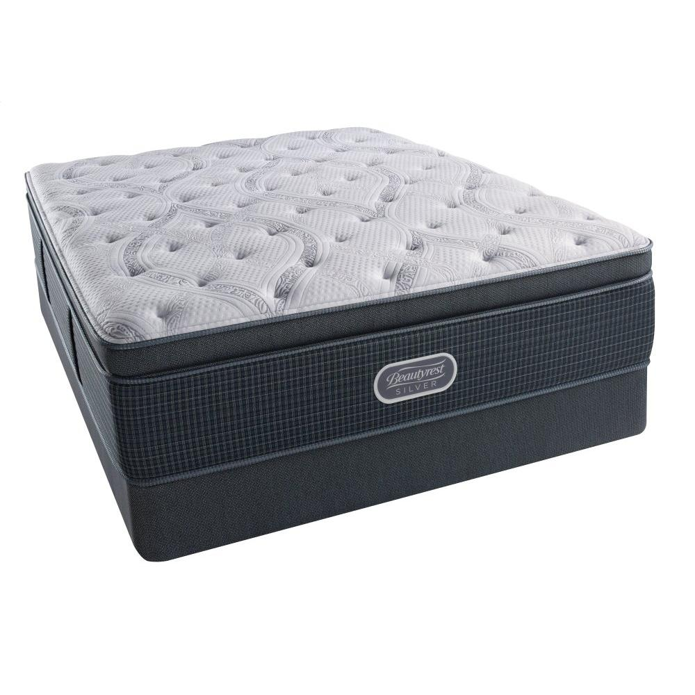 See Details - BeautyRest - Silver - Night Sky - Summit Pillow Top - Luxury Firm - Queen