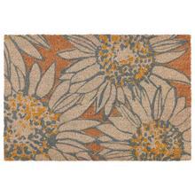 See Details - Doormat Sunflower Selfie Natural Multi 24x36