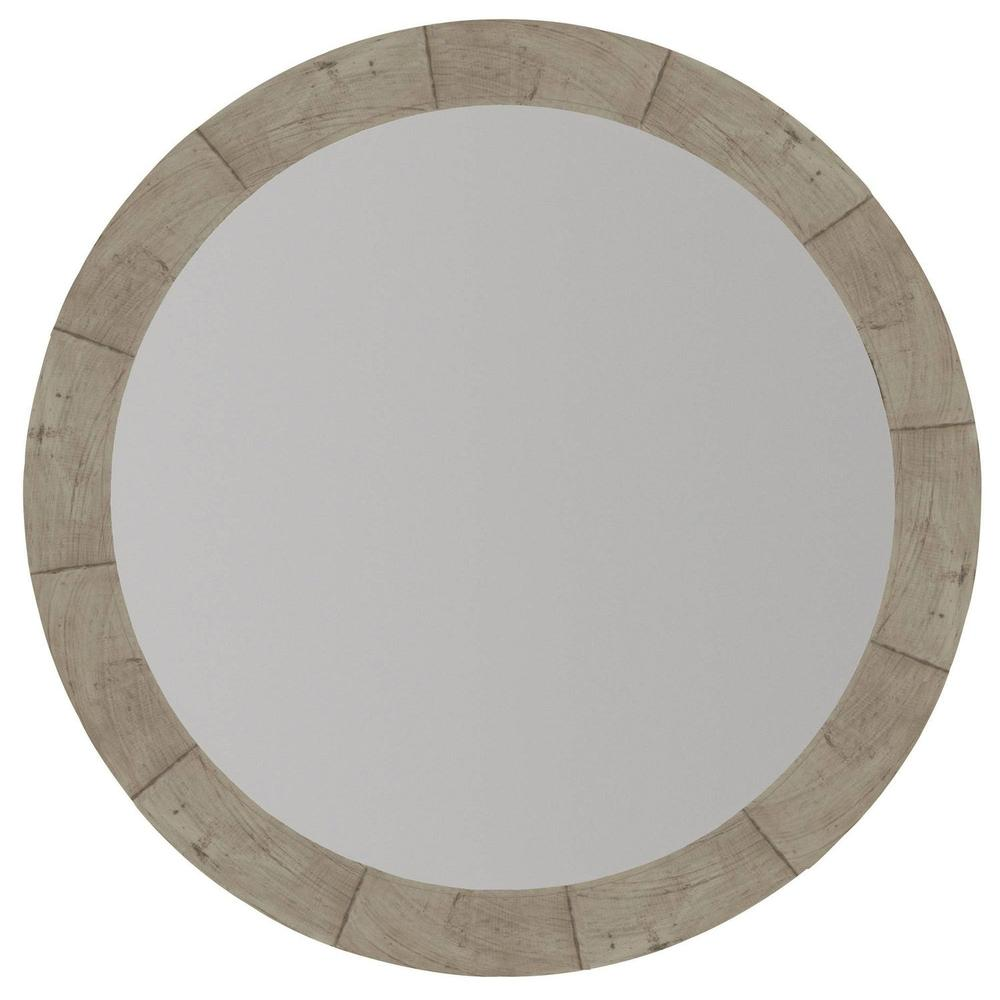 Piper Round Mirror in Morel (398)