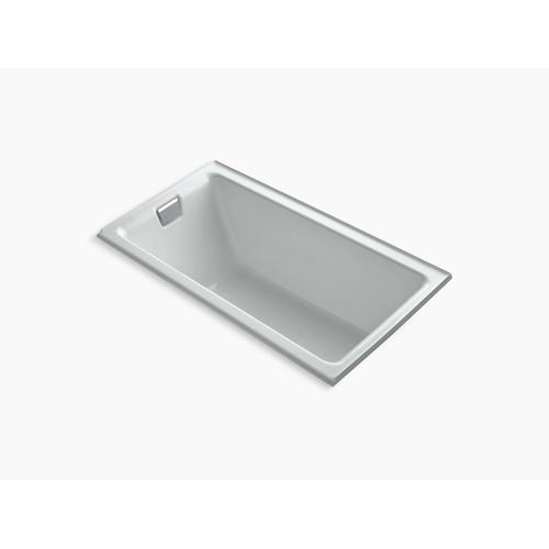 """Ice Grey 66"""" X 36"""" Alcove Bath With Integral Flange and Left-hand Drain"""