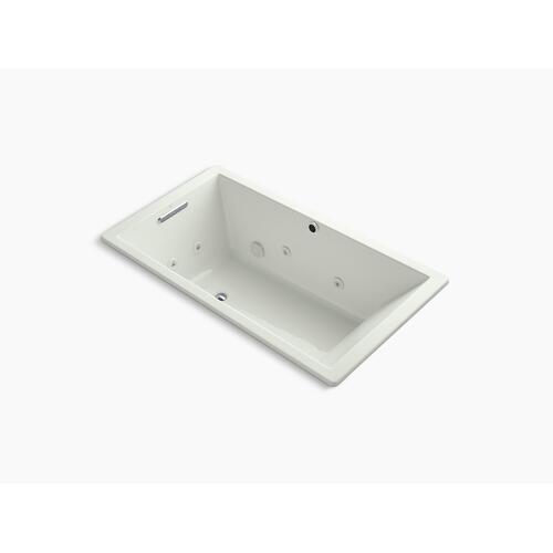 "Dune 66"" X 36"" Heated Whirlpool Bath With Reversible Drain"