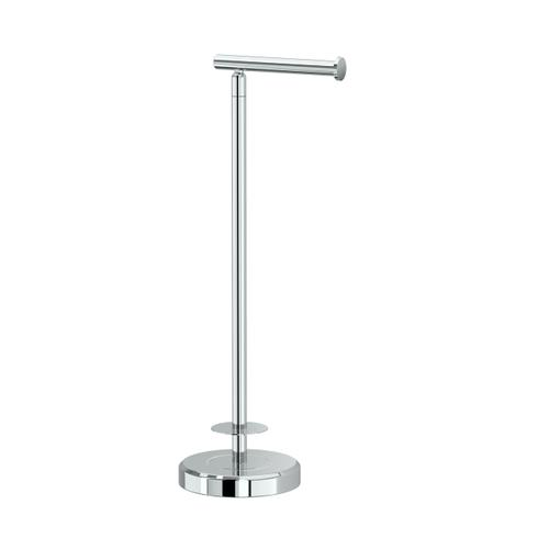 Tissue Holder Stand with Storage #2 in Chrome