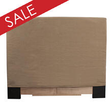 FQ Slipcovered Headboard Gold Digger Dune