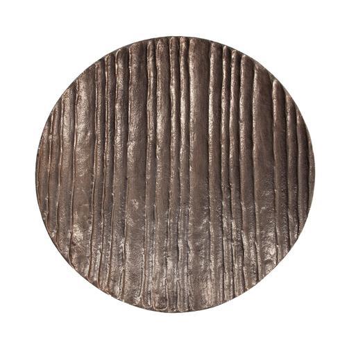 Howard Elliott - Organic Grooved Aluminum Plate