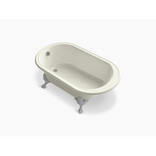 "Biscuit 66"" X 36"" Freestanding Oval Bath"