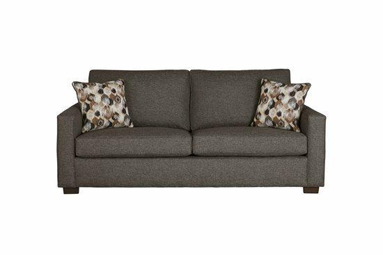 Sofa - Shown in 115-18 Charcoal Tweed Finish
