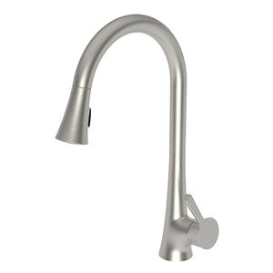 Satin Nickel - PVD Pull-down Kitchen Faucet