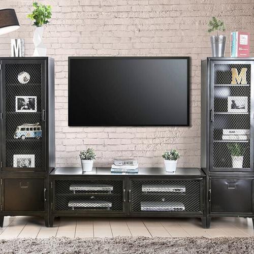 Furniture of America - Clonakitty Left Pier Cabinet