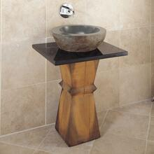 See Details - Madera Pedestal