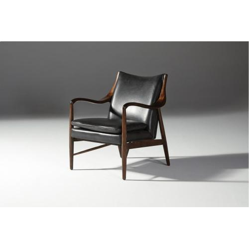Kiannah Club Chair Black