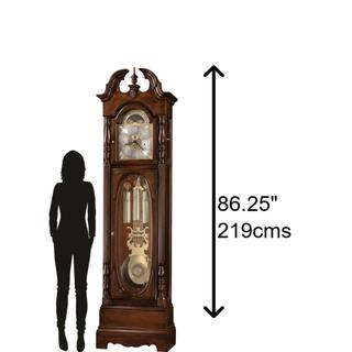 See Details - Howard Miller Robinson Grandfather Clock 611042