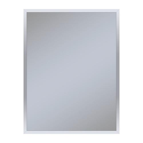 "Profiles 23-1/8"" X 29-7/8"" X 3/4"" Framed Mirror In Chrome"