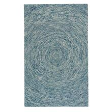 Orbit Blue Hand Tufted Rugs