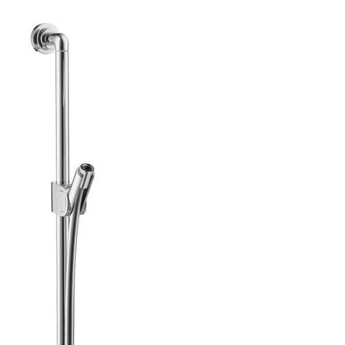 Brushed Nickel Shower bar 0.90 m