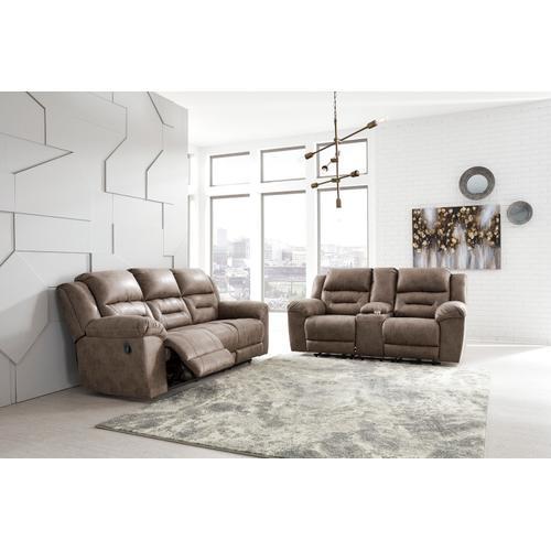 Stoneland Reclining Sofa Fossil