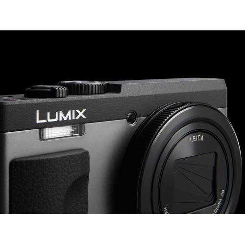 LUMIX 20.3 Megapixel, 4K Digital Camera, Touch Enabled 3-inch 180 Degree Flip-front Display, 30X LEICA DC VARIO-ELMAR Lens - Silver
