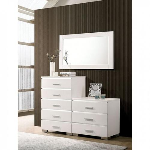 Furniture of America - Carlie Night Stand W/ 3 Drawers