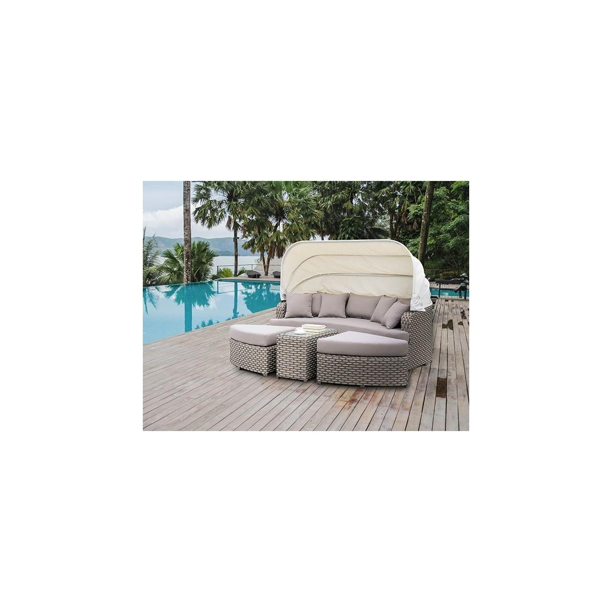 Riya 4pc. Patio Daybed