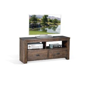 """Sunny Designs - Homestead 54"""" TV Console w/ 2 Drawers"""