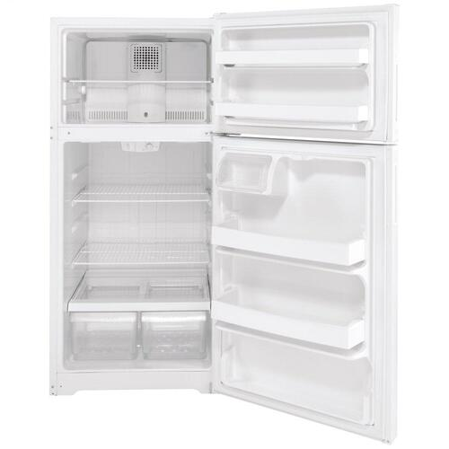 Hotpoint® ENERGY STAR® 15.6 Cu. Ft. Recessed Handle Top-Freezer Refrigerator