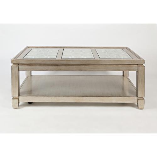 Casa Bella Cocktail Table- Vintage Silver