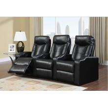 Black Broadway LAF Recliner