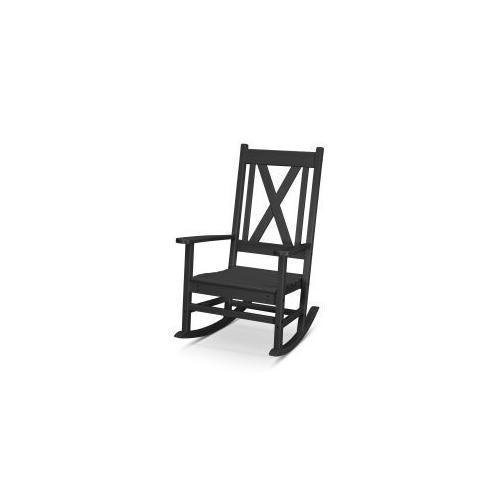 Polywood Furnishings - Braxton Porch Rocking Chair in Black