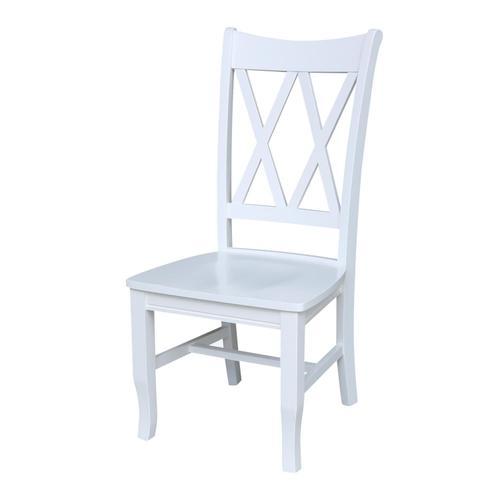 John Thomas Furniture - Double X Back Chair