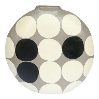 Polka Dot Vase Round