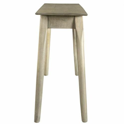 Worldwide Homefurnishings - Chintu Console/Desk in Light Grey