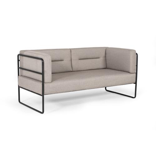 VIG Furniture - Modrest Norman Modern Grey Fabric Loveseat Sofa