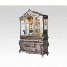 ACME Chantelle Hutch & Buffet - 60544_KIT - Antique Platinum