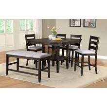 Ellie Counterheight Pub Table with 4 Chairs