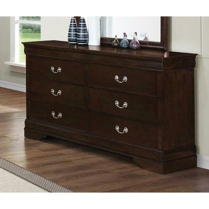 See Details - Louis Philippe Six-drawer Dresser
