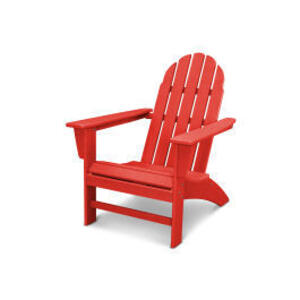 Polywood Furnishings - Vineyard Adirondack Chair in Vintage Sunset Red