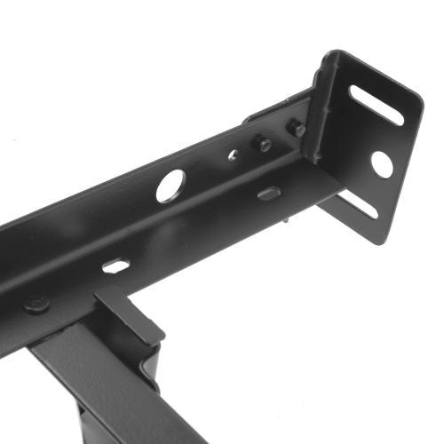 Leggett and Platt - Restmore Adjustable PL45G Posi-Lock Bed Frame with Headboard Brackets and (4) 2.5-Inch Glide Legs, Twin / Full