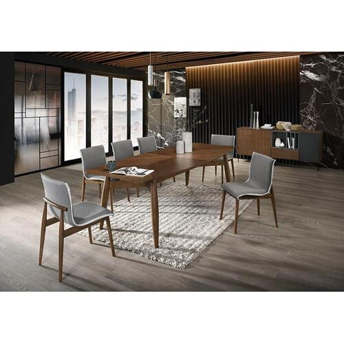 VIG Furniture - Modrest Ackley - Modern Walnut Rectangular Dining Table
